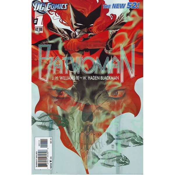 Batwoman New 52 Issue 1 Dc's New 52 Batwoman 1